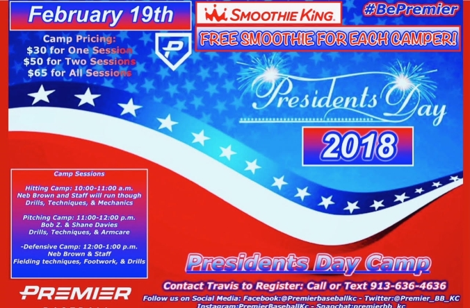presidents day camp 2018 smoothie king - Presidents Day Camp 2018