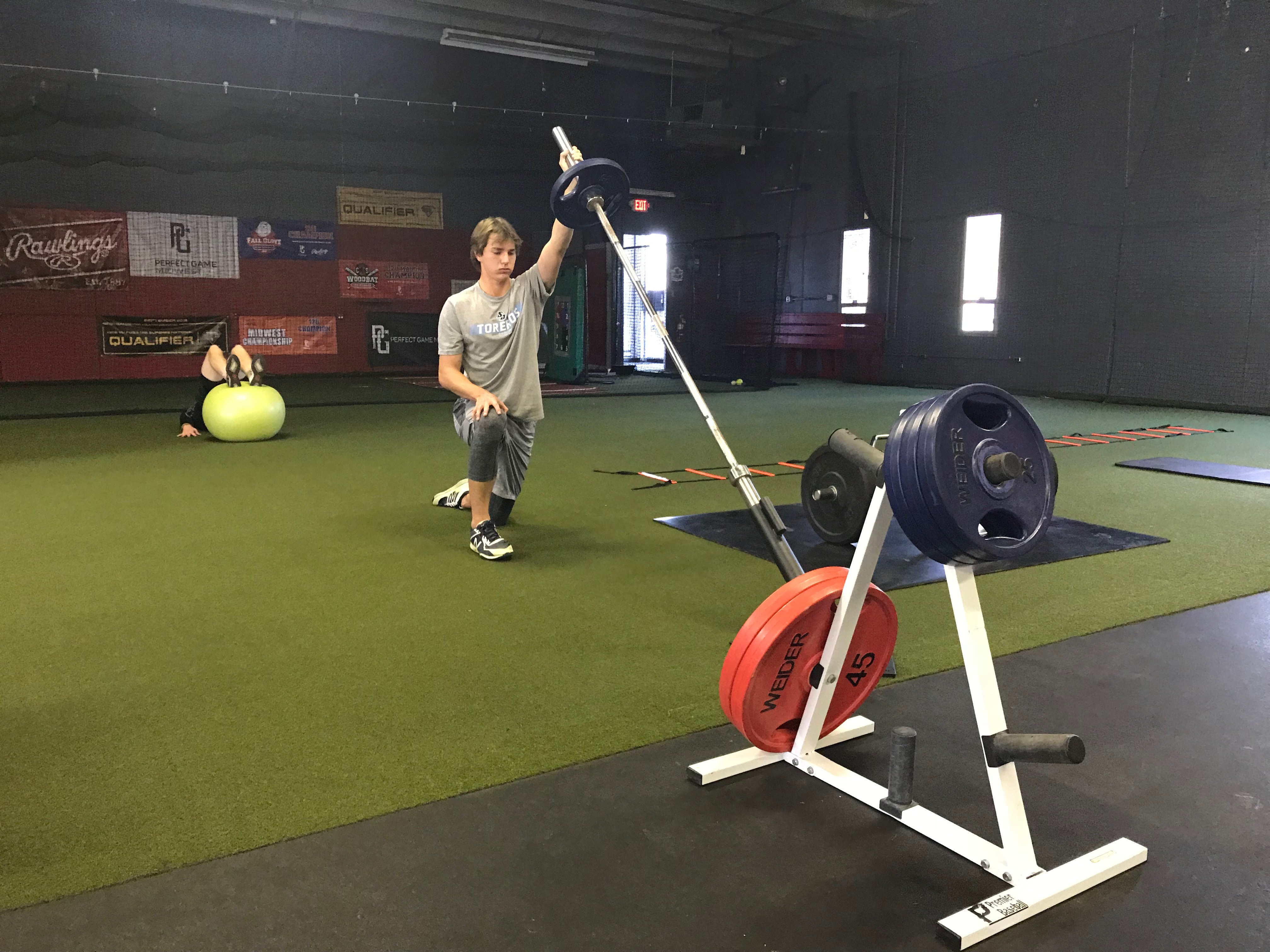Strength Training - Premier Baseball KC